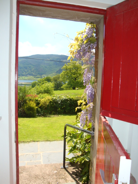 Photo: looking out to the garden at Rose Cottage Keswick